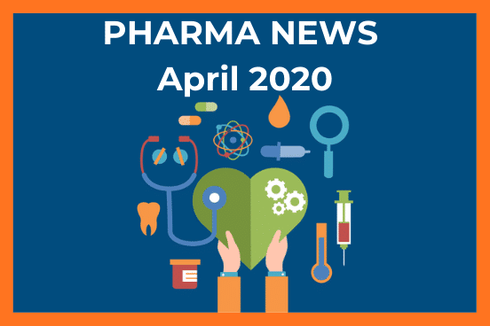 Pharma news banner april 2020