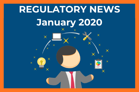 regulatory news banner january 2020