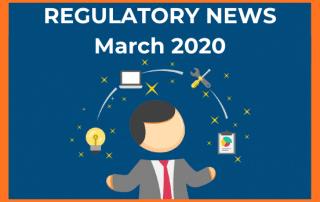regulatort news banner march 2020
