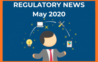regulatory news banner may 2020