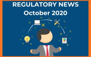 Regulatory News October 2020