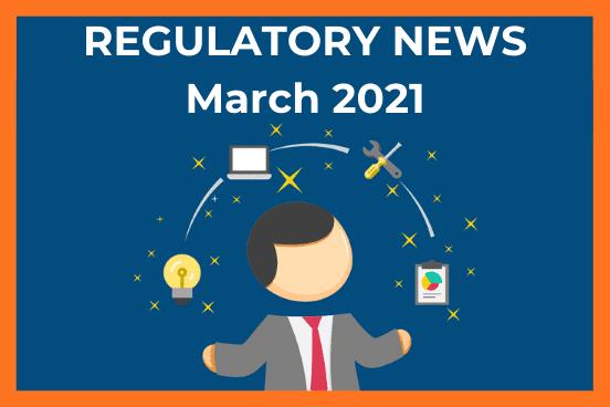 Reg News March 2021