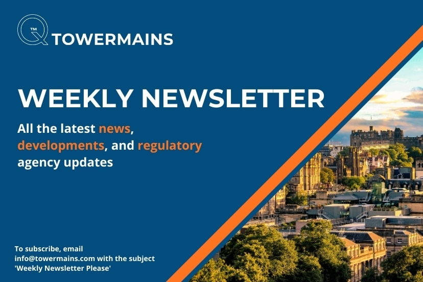 Tower Mains Weekly Newsletter
