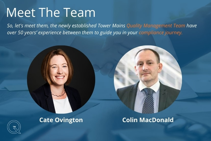 Meet our newly established Quality Management Team