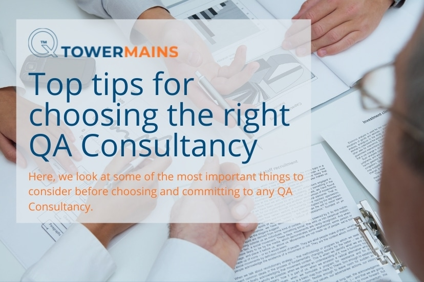 Top tips for choosing the right QA consultancy